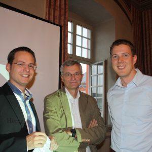 Tobias Eckert , Michael Uhl und Christoph Degen