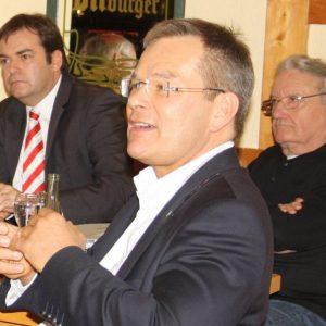 Uli Aumüller, Dr. Thomas Spies sowie  Karl-Heinz Winter