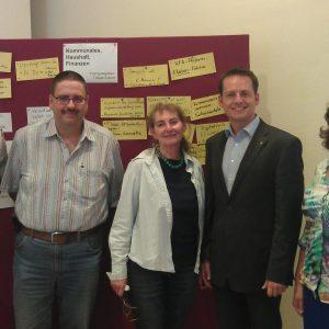 Unter den Teilnehmern aus Limburg-Weilburg waren der Landtagsabgeordnete Tobias Eckert und die Kubacher Ortsvorsteherin Jacqueline Würz