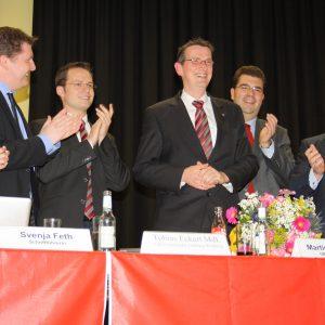 Stehende Ovationen für den Bundestagskandidaten Martin Rabanus