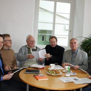 Vorstellung der Broschüre über Carl Schapper in der Weilburger Stadtbibiliothek