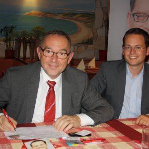 Der nordrhein-westfählische Finanzminister Norbert Walter-Borjans beteiligt sich an der Unterschriftenaktion gegen Steuerflucht